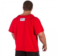 Gorilla Wear Classic Work Out Top Red-1