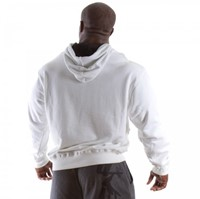 Gorilla Wear Classic Hooded Top White-1