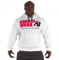 Gorilla Wear Classic Hooded Top White-3