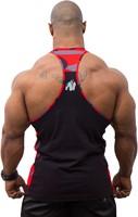 Gorilla Wear Sacramento Camo Mesh Tank Top - Black/Red-3