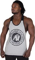 Gorilla Wear Roswell Tank Top - Gray/Black