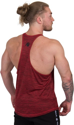 Gorilla Wear Austin Tank Top - Red-3
