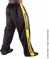 Gorilla Wear Track Pant Black/Yellow-1