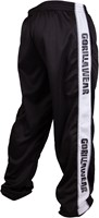 Gorilla Wear Track Pants Black/White-3