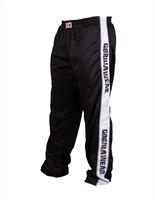 Gorilla Wear Track Pants Black/White-1