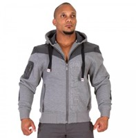 Gorilla Wear Disturbed Jacket Grey Melange-1