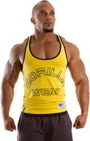 Gorilla Wear Stringer Tank Top Yellow-1