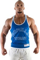 Gorilla Wear Stringer Tank Top Royal Blue-1