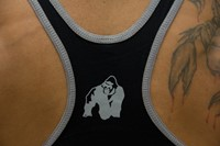 Gorilla Wear Stringer Tank Top Black-3