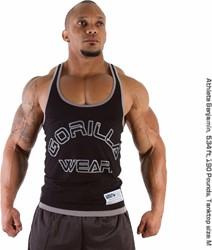Gorilla Wear Stringer Tank Top Black