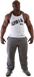 Gorilla Wear Stamina Rib Tank Top White