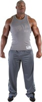 Gorilla Wear Stamina Rib Tank Top Gray-1