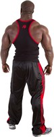 Gorilla Wear Stamina Rib Tank Top Black/Red-2