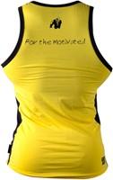 Gorilla Wear Stretch Tank Top Yellow-1