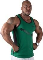 Gorilla Wear Stretch Tank Top Green-1
