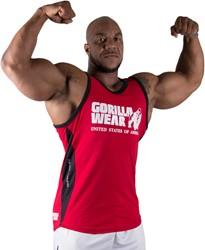 Gorilla Wear Stretch Tank Top Tango Red