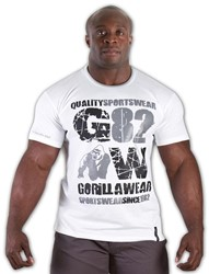 Gorilla Wear 82 Tee - white