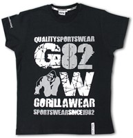 Gorilla Wear 82 Tee - black-3