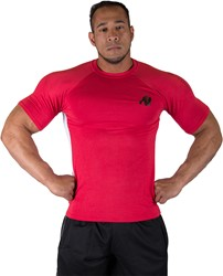 Gorilla Wear Stretch Tee Red One Size