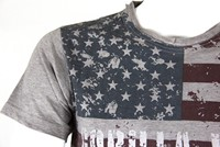 Gorilla Wear USA Flag Tee-3