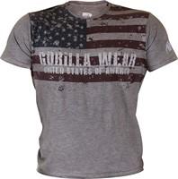 Gorilla Wear USA Flag Tee