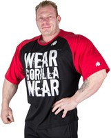 Gorilla Wear Colorado Oversized T-Shirt Black/Red-3