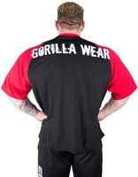 Gorilla Wear Colorado Oversized T-Shirt Black/Red-2