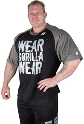 Gorilla Wear Colorado Oversized T-shirt Black/Grey