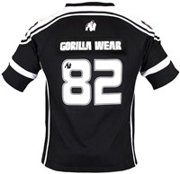 Gorilla Wear GW Athlete T-Shirt Black/White-1