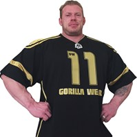 Gorilla Wear GW Athlete T-Shirt Dennis Wolf Black/Gold-1