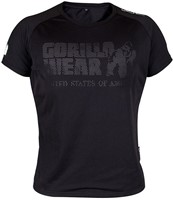 Gorilla Wear Memphis Mesh T-Shirt Black-3