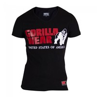 Gorilla Wear Utah V-Neck T-Shirt - Black-1