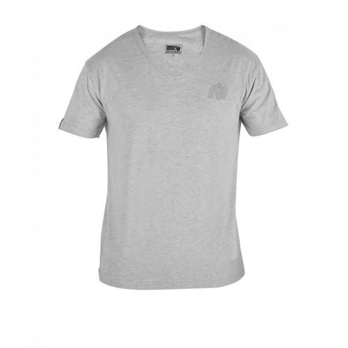Gorilla Wear Essential V-Neck T-Shirt - Gray