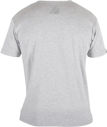 Gorilla Wear Essential V-Neck T-Shirt - Gray-2