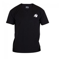 Gorilla Wear Essential V-Neck T-Shirt - Black-1