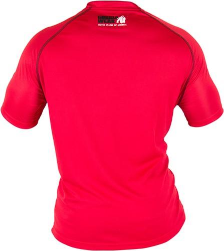 Gorilla Wear Performance T-shirt Red/Black