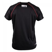 Gorilla Wear Performance T-shirt Black/red-2