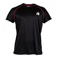 Gorilla Wear Performance T-shirt Black/red-1