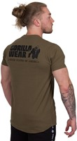 Gorilla Wear Bodega T-shirt - Army Green-3
