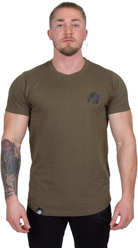 Gorilla Wear Bodega T-shirt - Army Green
