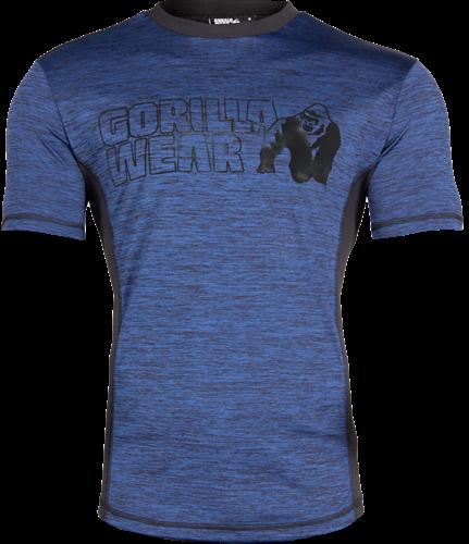 Gorilla Wear Austin T-shirt - Marineblauw/Zwart