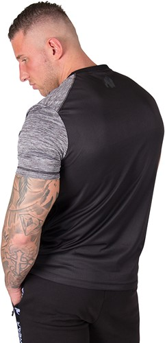 Gorilla Wear Austin T-shirt - Gray/Black-3