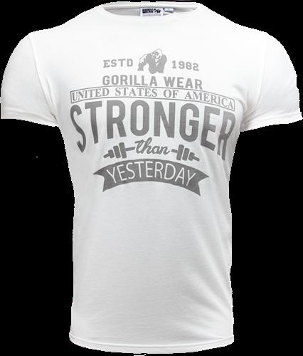 Gorilla Wear Hobbs T-Shirt - Wit
