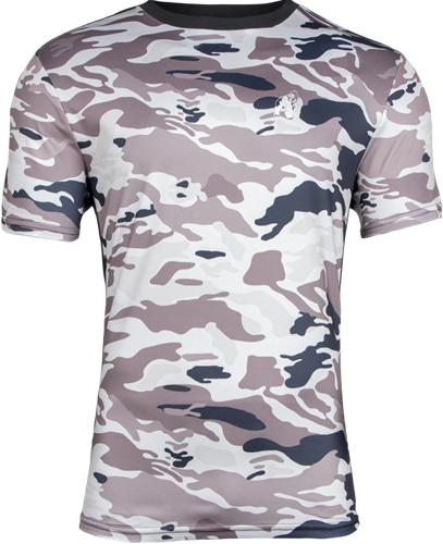 Gorilla Wear Kansas T-shirt - Beige Camo