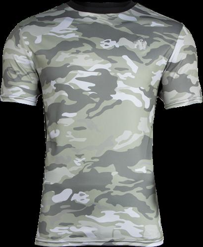 Gorilla Wear Kansas T-shirt - Legergroen Camo
