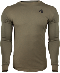 Gorilla Wear Williams Longsleeve - Army Green