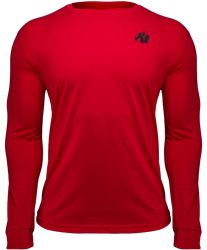 Gorilla Wear Williams Longsleeve - Red