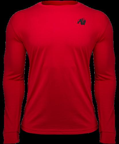 Gorilla Wear Williams Longsleeve - Rood - 4XL