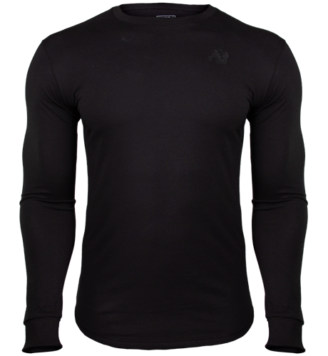 Gorilla Wear Williams Longsleeve - Zwart - 2XL
