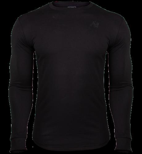 Gorilla Wear Williams Longsleeve - Zwart - 5XL